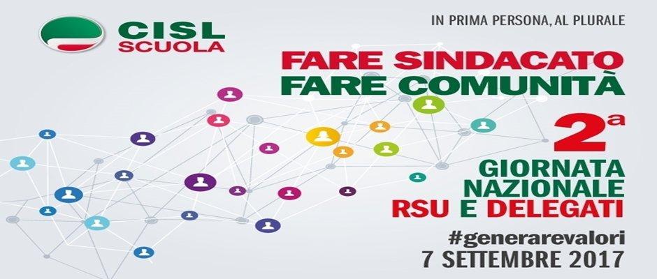 8 Settembre 2017 - II Giornata Rsu e Delegati Cisl Scuola Pavia Lodi
