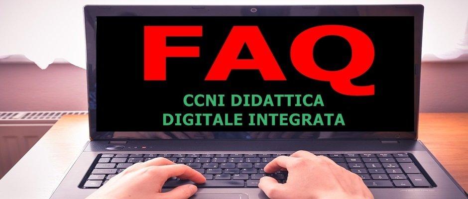 Le FAQ sulla Didattica Digitale Integrata concordate al tavolo di monitoraggio sul CCNI